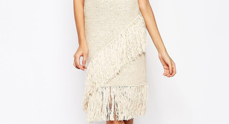 Broke or Bargain: Knitted fringe top
