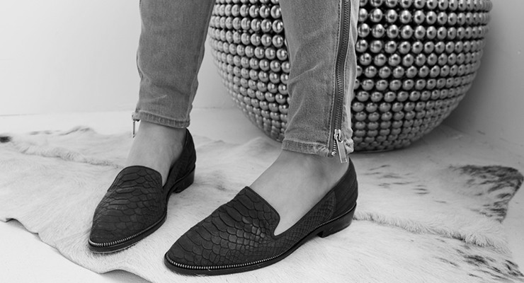 Broke or Bargain: The Kooples black loafers