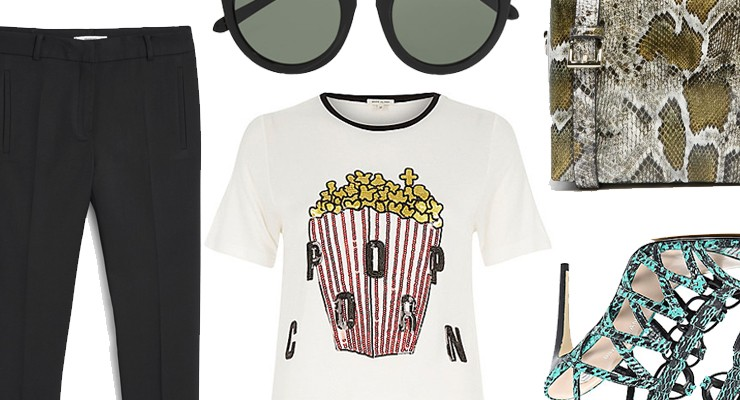 Styled by Manon #381/ Sequin popcorn tee