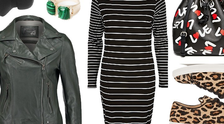 Styled by Manon #382 / Striped dress