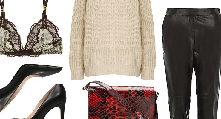 Styled by Manon #420 / Red snake bag