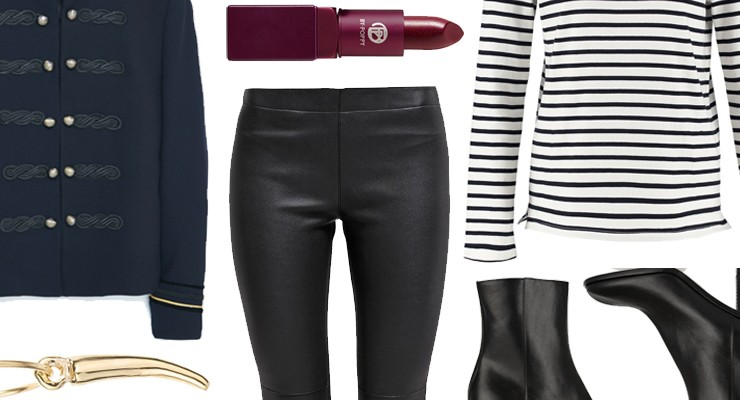 Styled by Manon #416 / Black leather pants