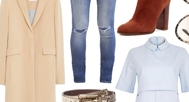 Styled by Manon #399 / Suède heeled ankle boots