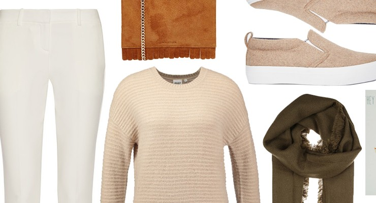 Styled by Manon #407 / Beige sweater weather