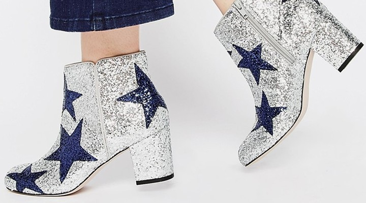Broke or Bargain: ASOS glitter star boots