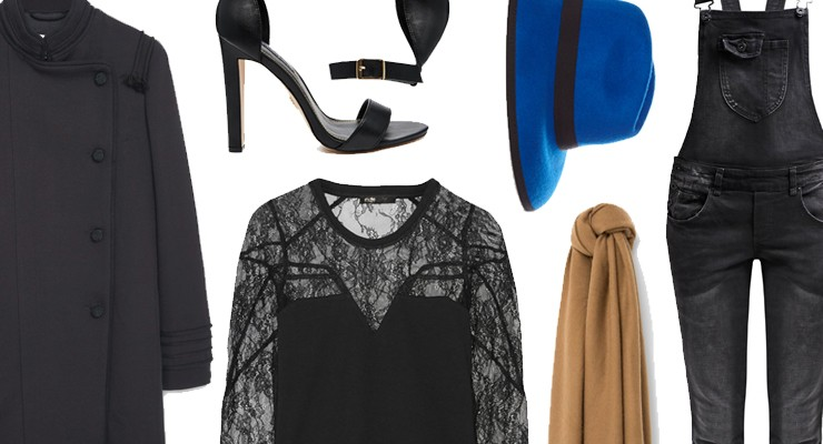 Styled by Manon #424 / Black lace blouse
