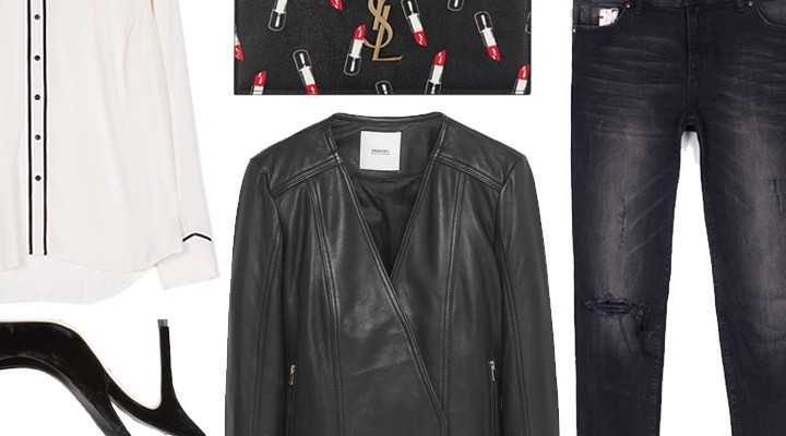 Styled by Manon #426 / Black leather jacket