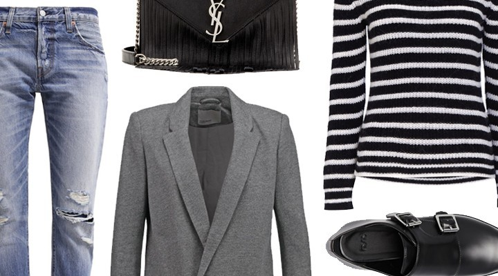 Styled by Manon #445 / Striped knit