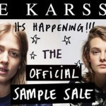 Zoe Karssen sample sale