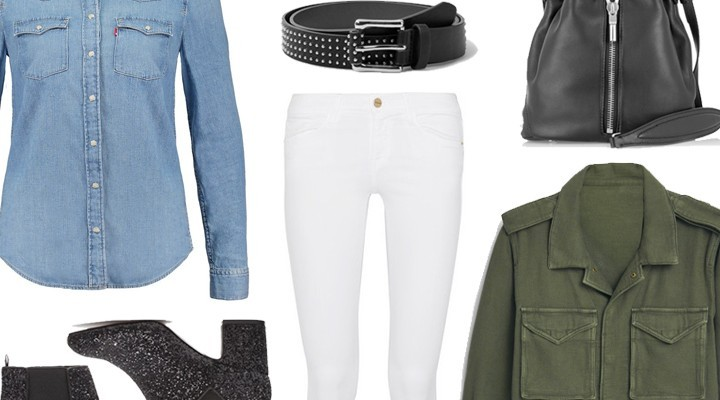 Styled by Manon #515 / White jeans