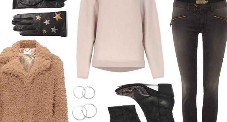 Styled by Manon #486 / Cozy teddy coat
