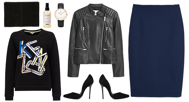 Styled by Manon #517 / How to wear the pencil skirt