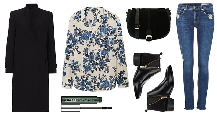 Styled by Manon #527 / Floral blouse