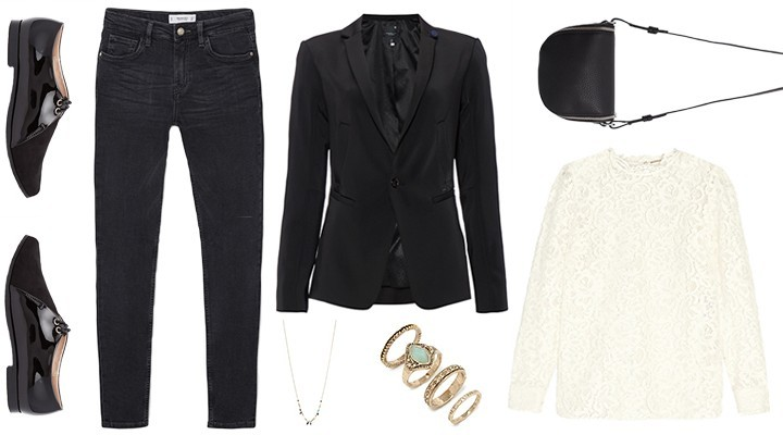 Styled by Manon #523 / Black 'n white