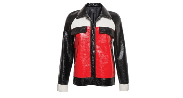 Styled by Manon #610 / Colour block leather jack