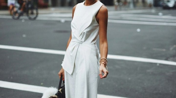 Styled by Manon #745 / Witte jumpsuit