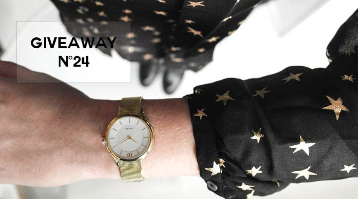 GIVEAWAY #24 - Horloge van Danish Design