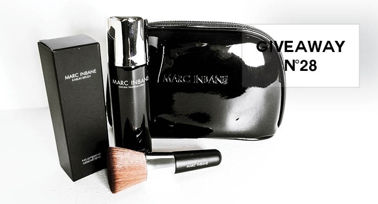 GIVEAWAY #28 - Travel set van Marc Inbane