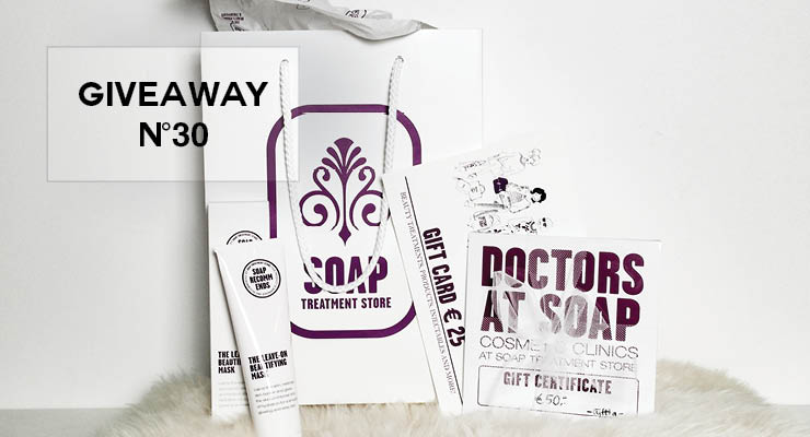 GIVEAWAY #30 – Gift bag van SOAP TREATMENT STORE