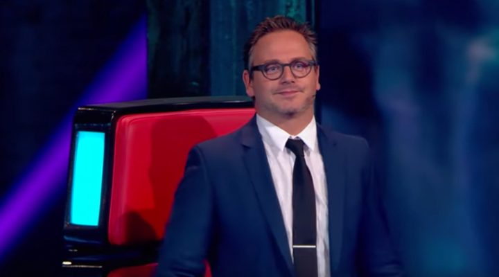 Even over die dasspeld van Guus tijdens The Voice