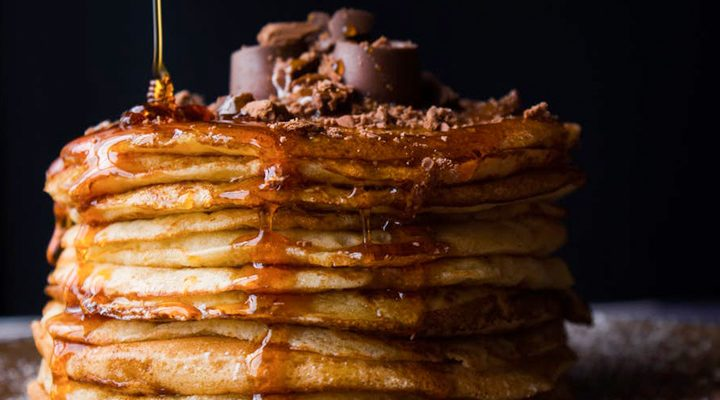 RECEPT: pompoen chocolate chip pannenkoeken