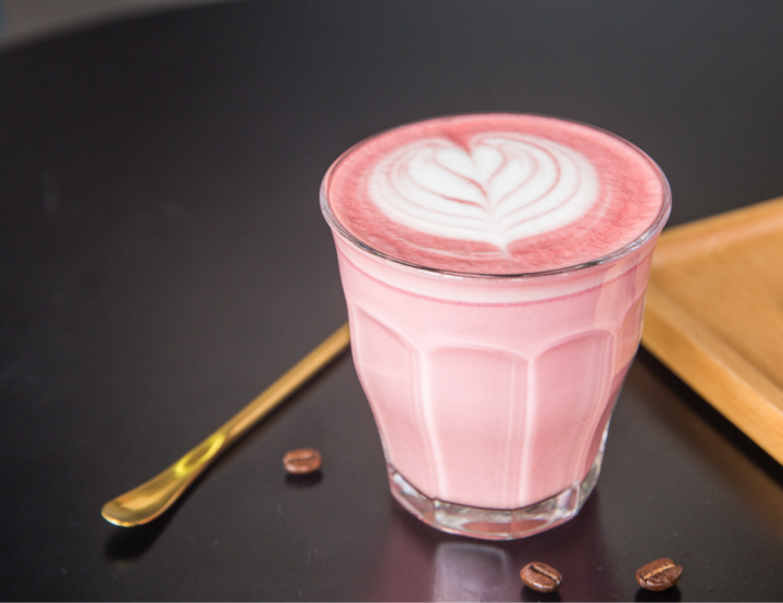 Recept: Red Velvet latte