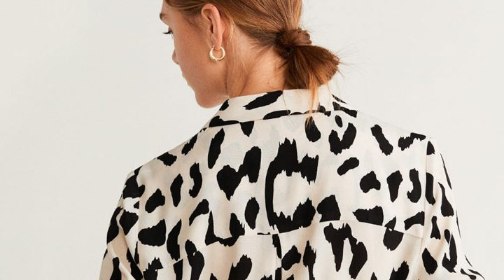 Style It Yourself - Leopard blouse