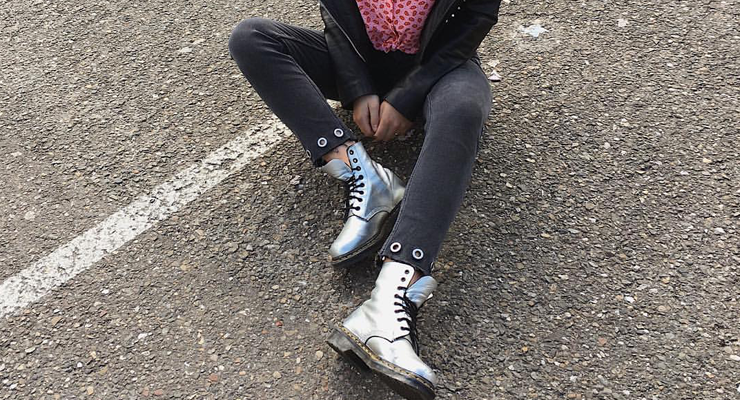 Style It Yourself – Glitter Dr. Martens