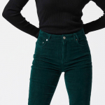 Style It Yourself - Groene rib flared