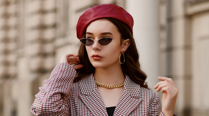 Style It Yourself - Rode baret