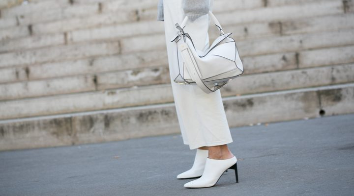 Broke or bargain: Helmut Lang straight-leg pants