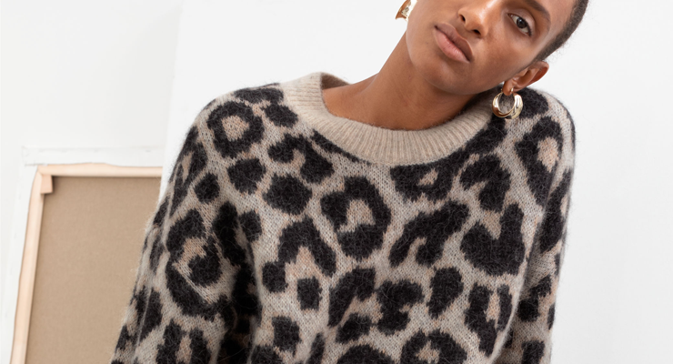 Broke or bargain: &Otherstories leopard sweater